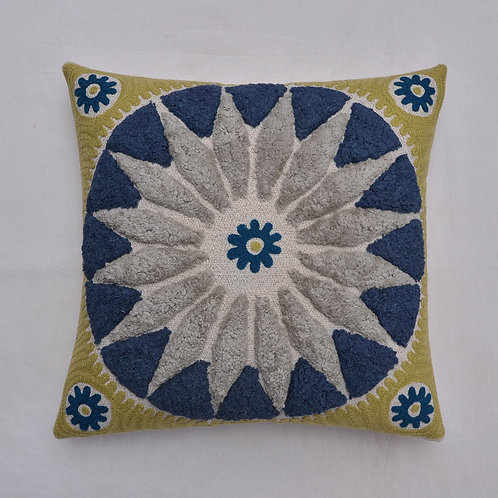 """SOFT MOROCCAN TUFTED CUSHION COVER 18""""X18"""""""