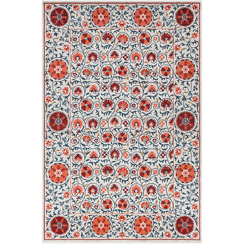 PRINTED RECTANGLE COTTON RUG