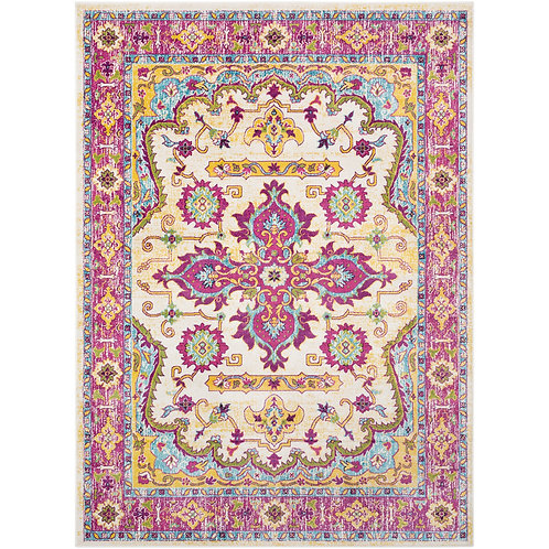 DHURRIE COTTON PRINTED RUG