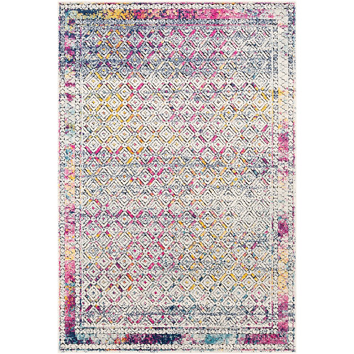 MULTICOLOR PRINTED COTTON RUG