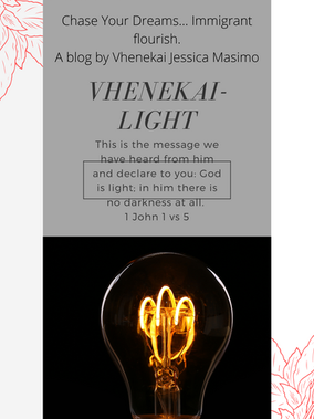 Vhenekai- meaning Light