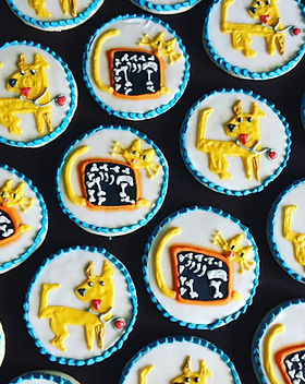 vet theme decorated cookie collection.jp