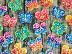 rainbow butterflies cookie collection.jp