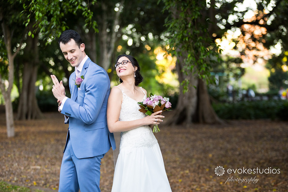 Brisbane fun wedding photos