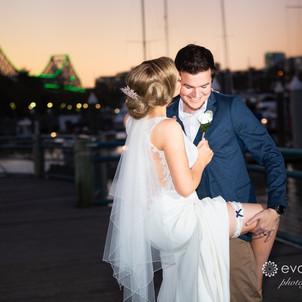 Cherbon Waters & Dockside Wedding