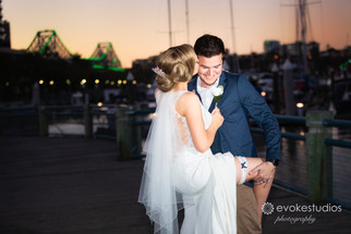Cherbon Waters & Dockside Wedding