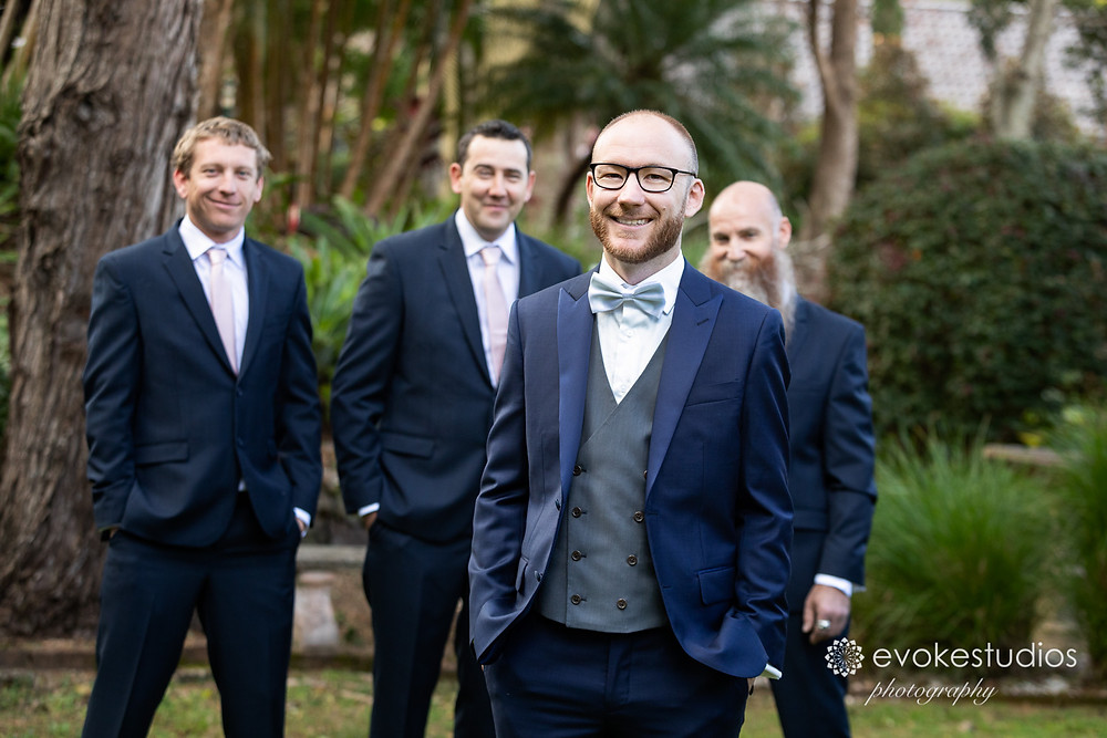 Groom wedding photography