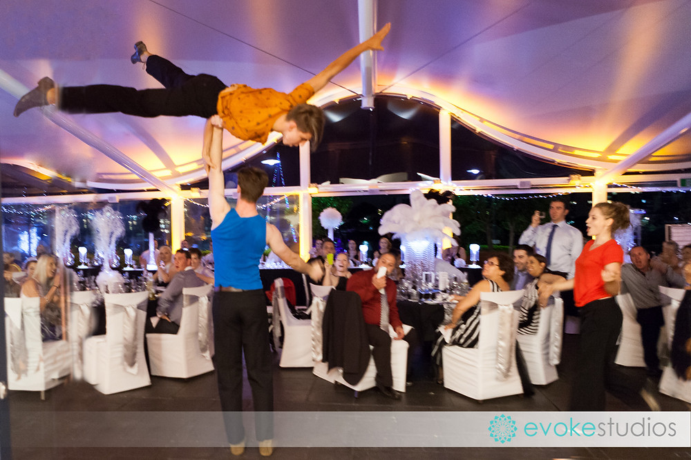 Flash Mob wedding dancers