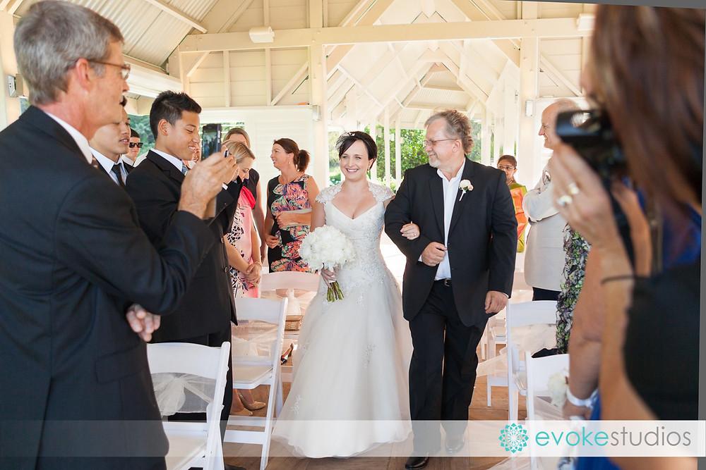 Wedding ceremony maleny manor