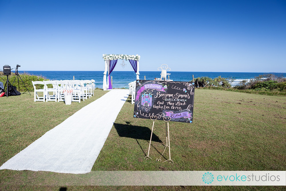 Beautiful Weddings beach decoration