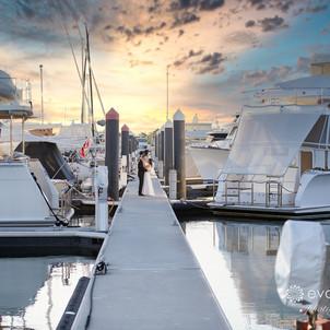 Andrew & Christina's Royal Yacht Club Wedding