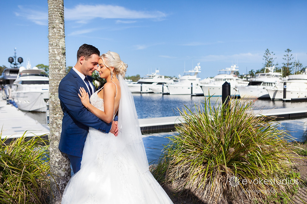 Boats wedding