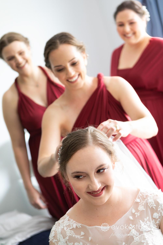 Wedding viel