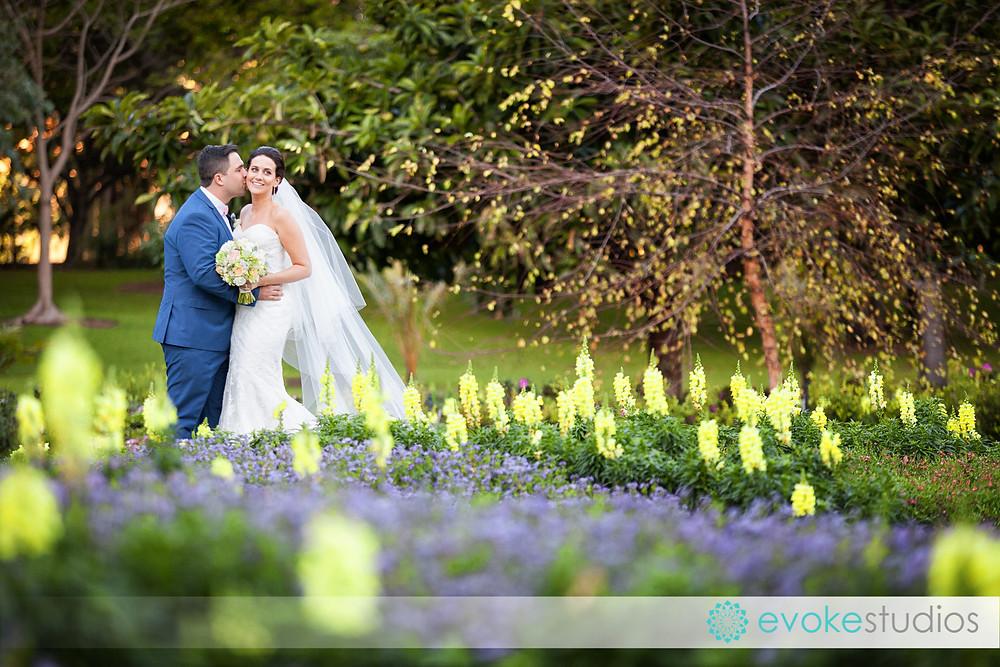 Botanical gardens wedding