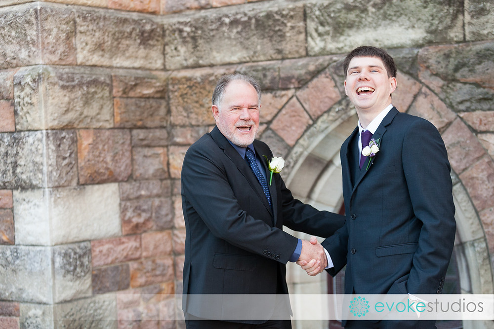 Grooms father
