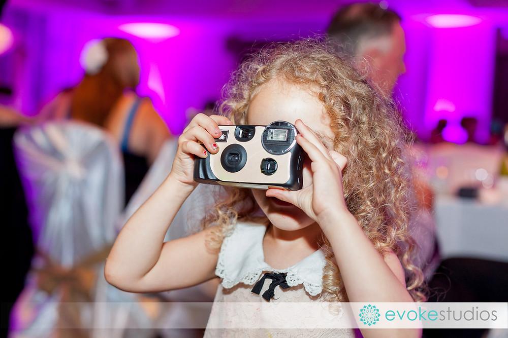 Disposiable cameras for weddings