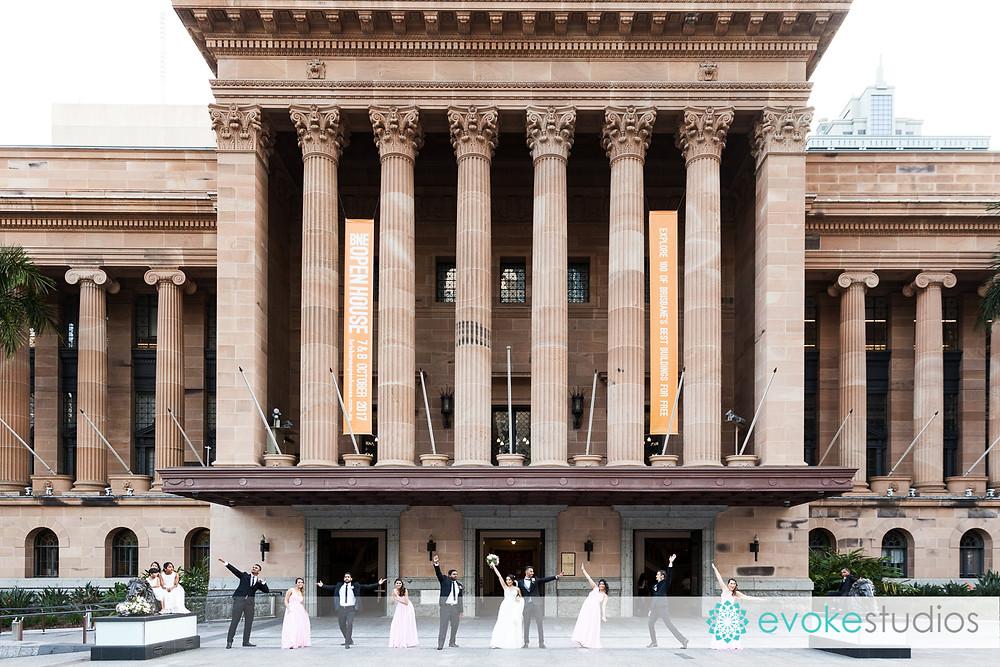 Brisbane city hall photography