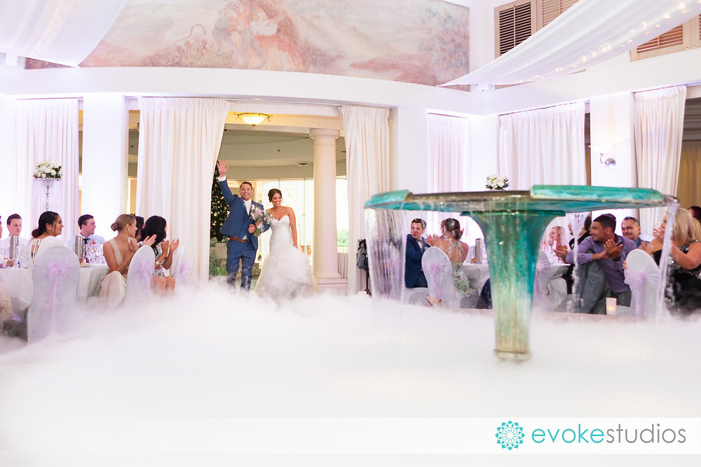 Dry ice grand entrance