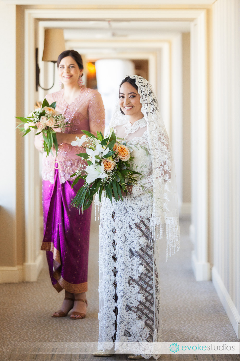 Indonesian wedding gown