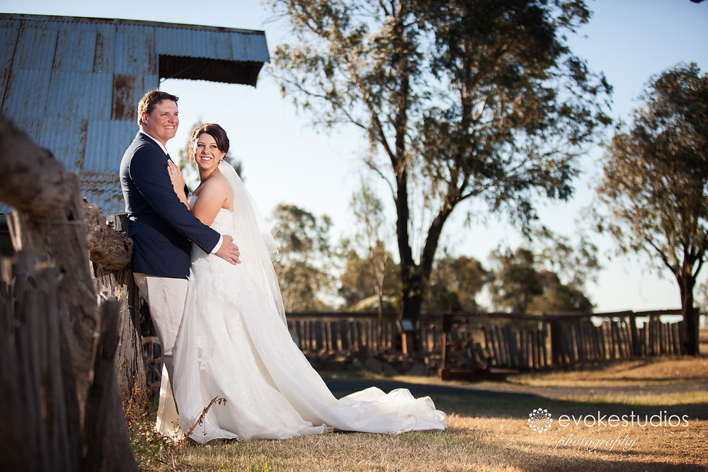 Woolshed country wedding