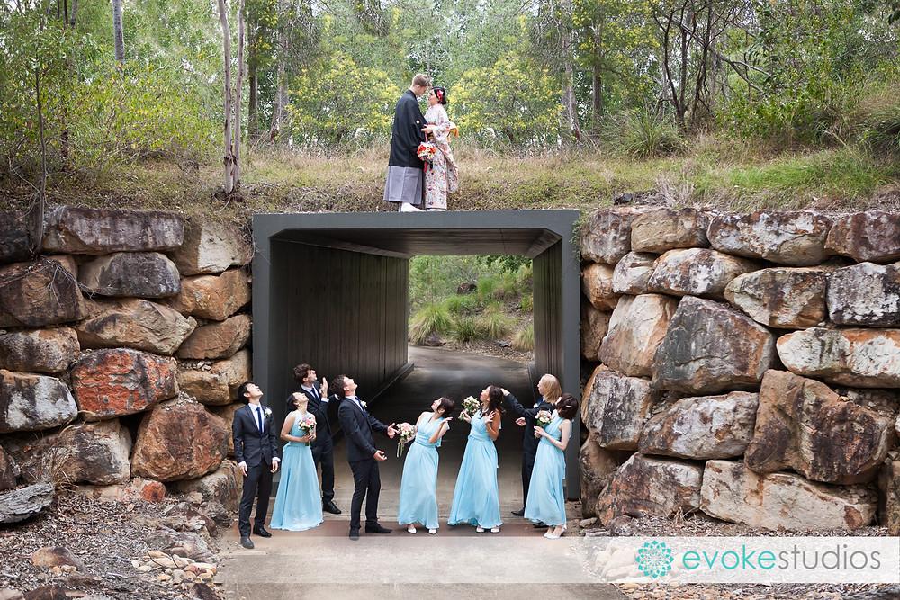 Brookwater golf wedding photos