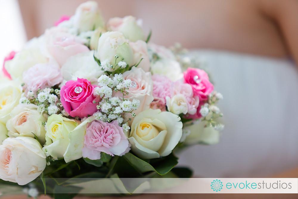 Wedidng flowers pink