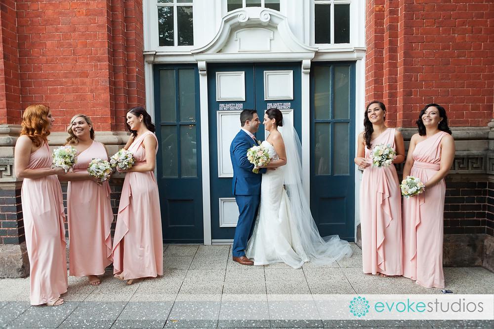 Girls wedding photography