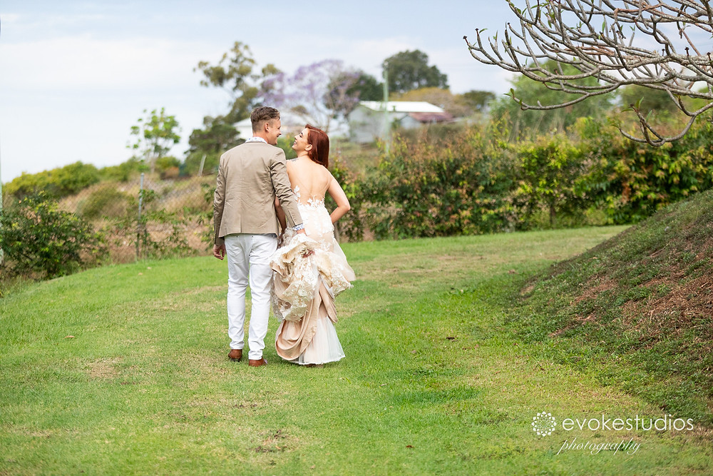 Rainforest gardens wedding photographer