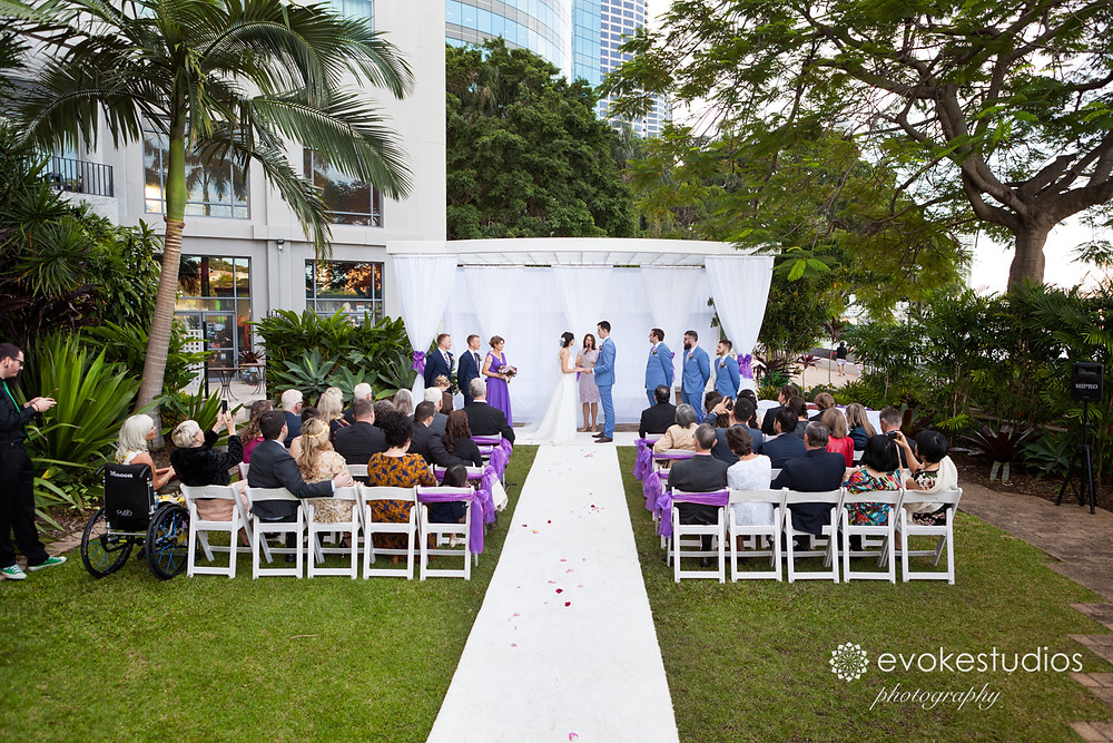 Wedding ceremony stamford plaza