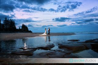 Scott & Jessalyn's Pelican Waters wedding