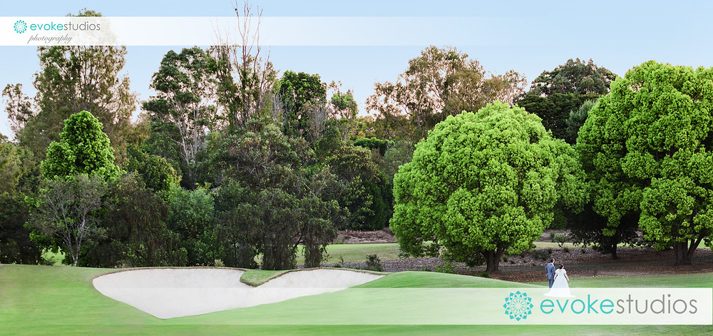 Indooroopilly golf course wedding