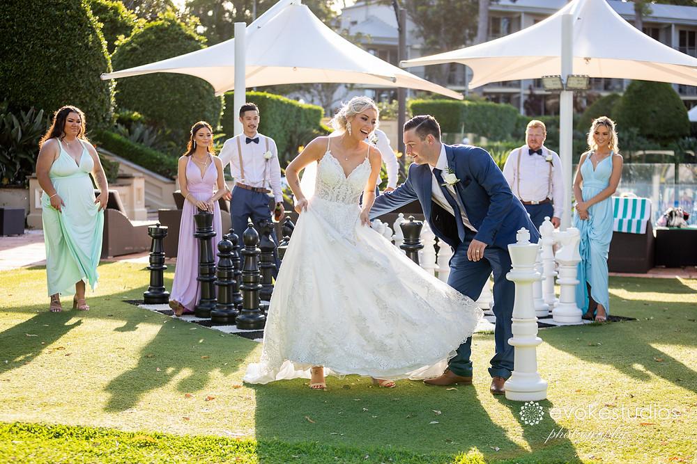 Best intercontinental sanctuary cove wedding photographer