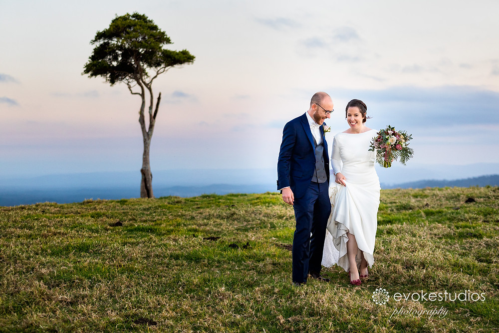 Best wedding photographer Sunshine Coast Hinterlands