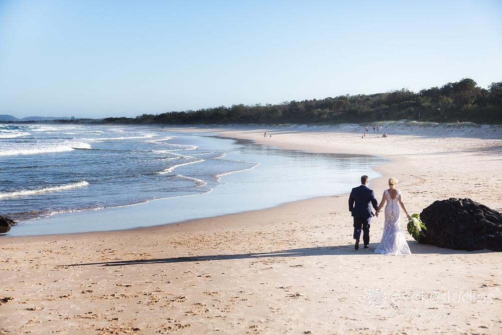 Beachwedding photos