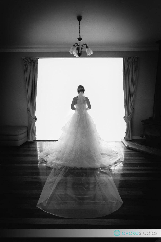Bride siloette