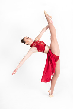 dance athlete photography session
