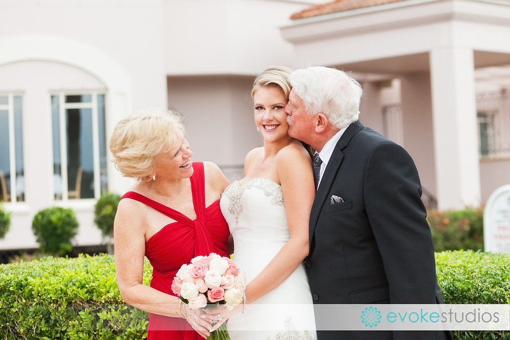 Brides mum & dad
