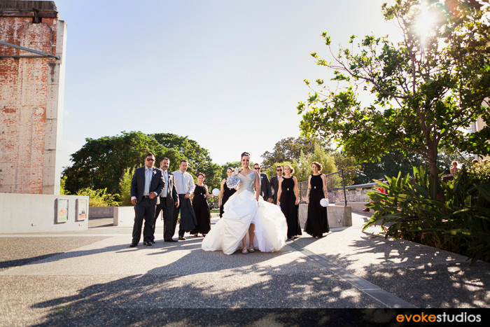 Powerhouse wedding