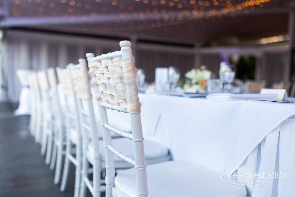 Styling wedding venue