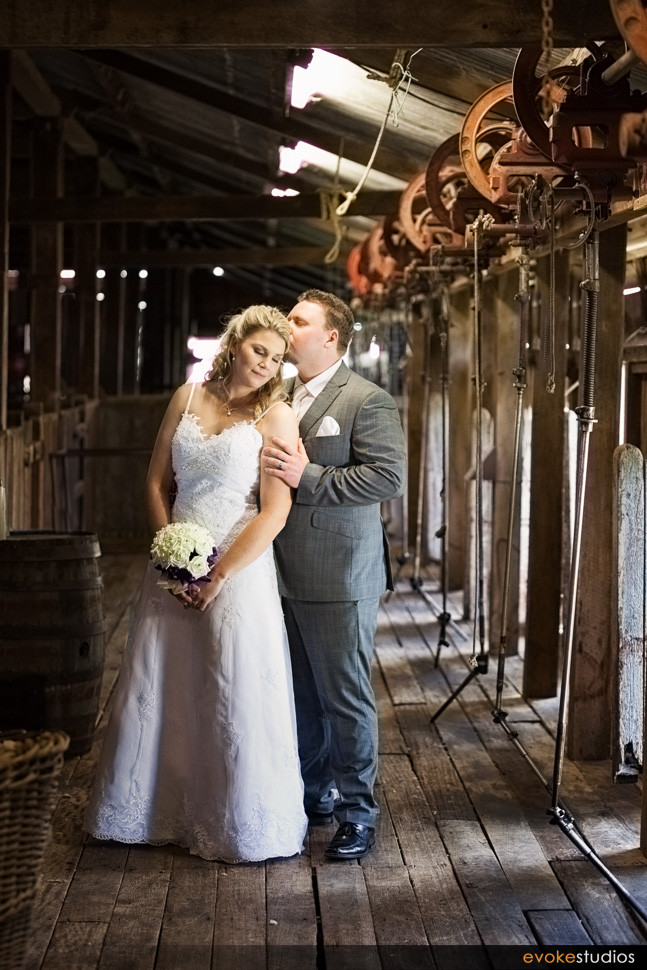 woolshed wedding
