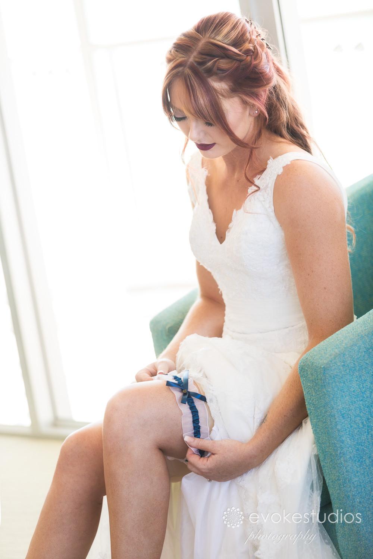 Brides garter