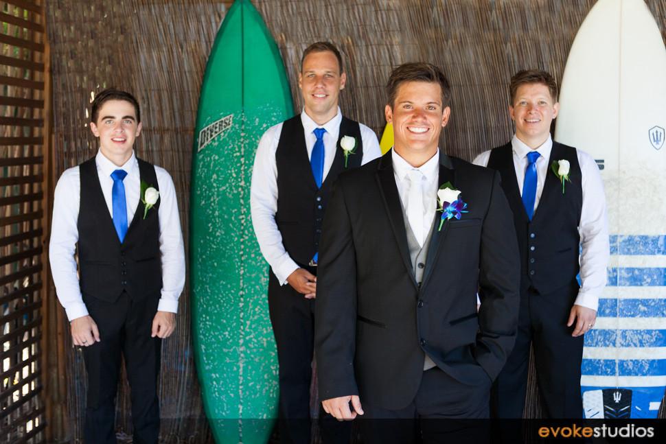 Wakeboard wedding
