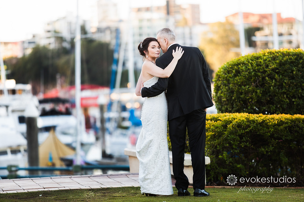 The Landing at dockside wedding photographer
