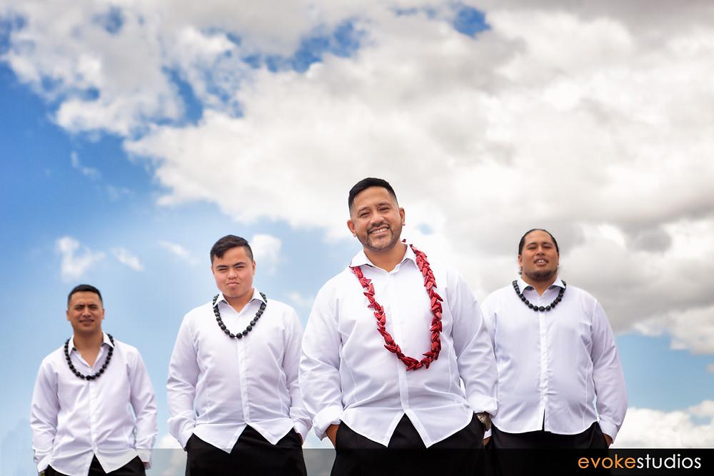 Samoan Groomsmen