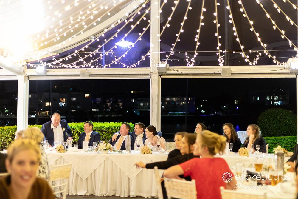 Dockside landing wedding venue