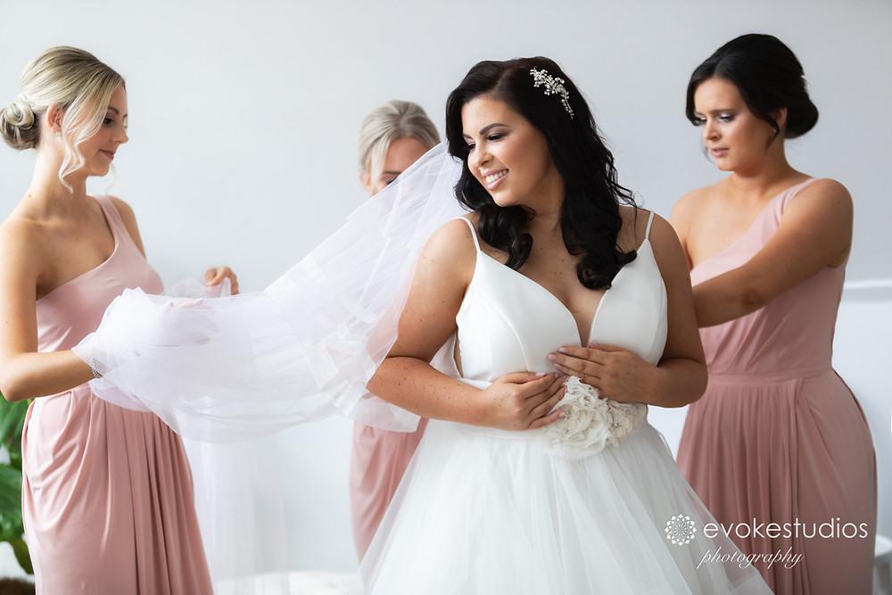 Brides preperation