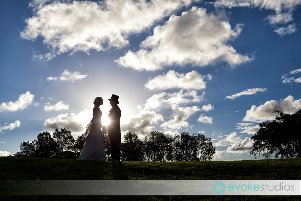 Top hats wedding