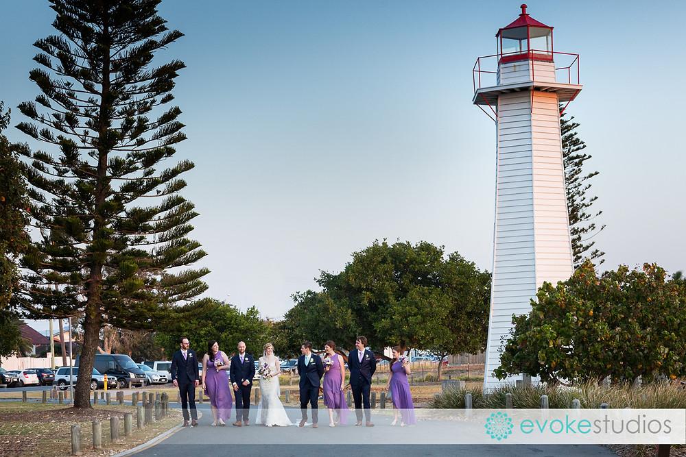 Cleveland lighthouse wedding photography