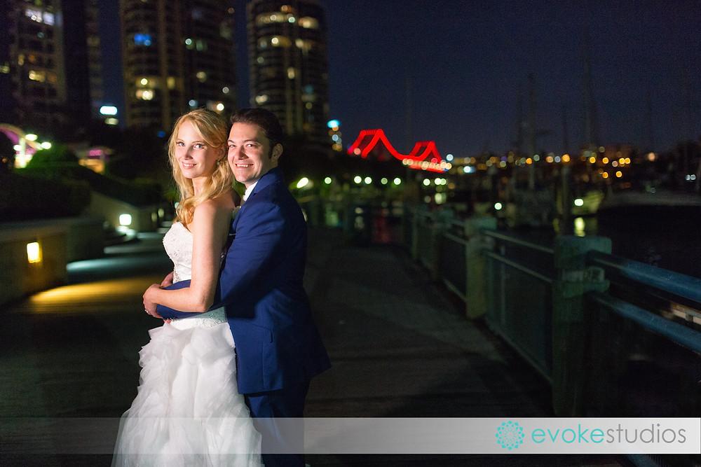 The dockside wedding photography