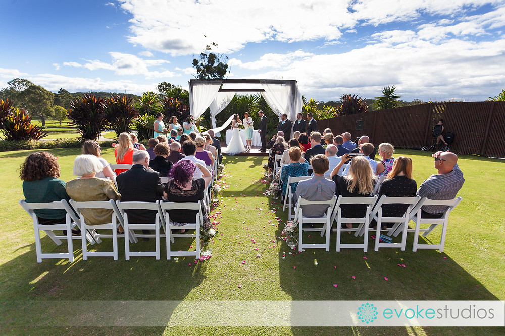 Parkwood Wedding ceremony